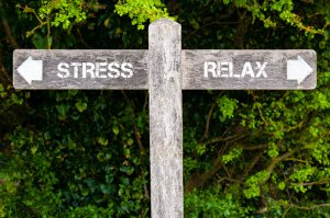 STRESS versus RELAX directional signs